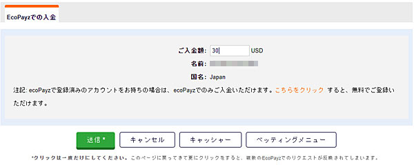 Pinnacle_エコペイズ入金_2