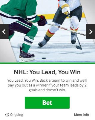 betway NHLプロモ