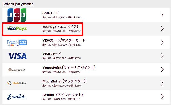 チェリーカジノ_入金エコペイズ1