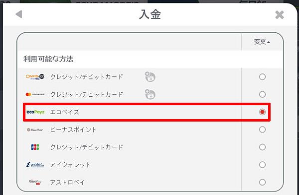 NETBET_入金エコペイズ1